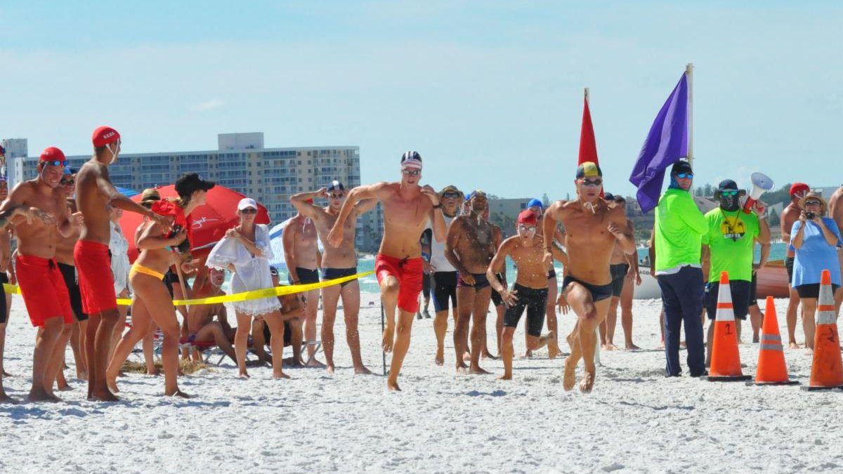Lifeguards from across Florida to compete on Siesta Beach