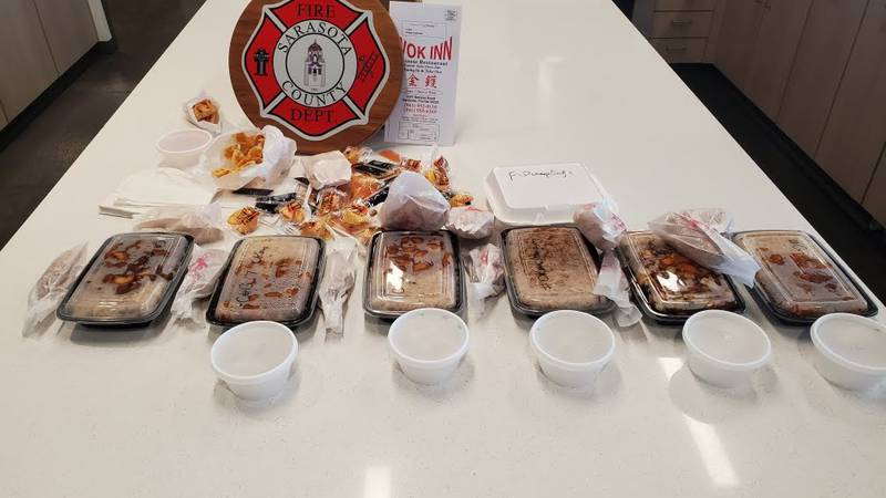 An anonymous donor is making sure that her local firefighters are being taken care of.