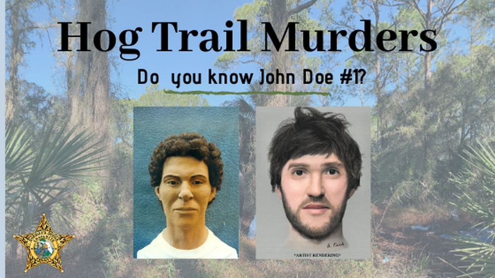 New sketch of John Doe #1 thought to be the first victim of the Hog Trail Murders.