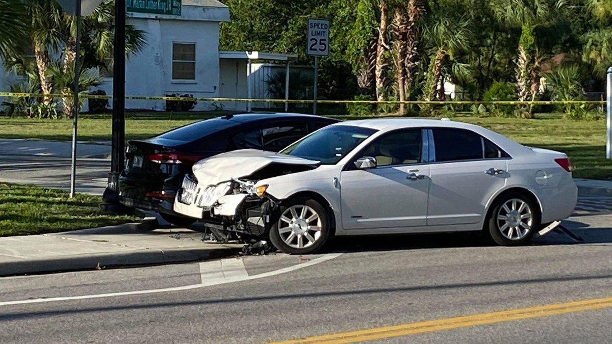 Crash in Sarasota