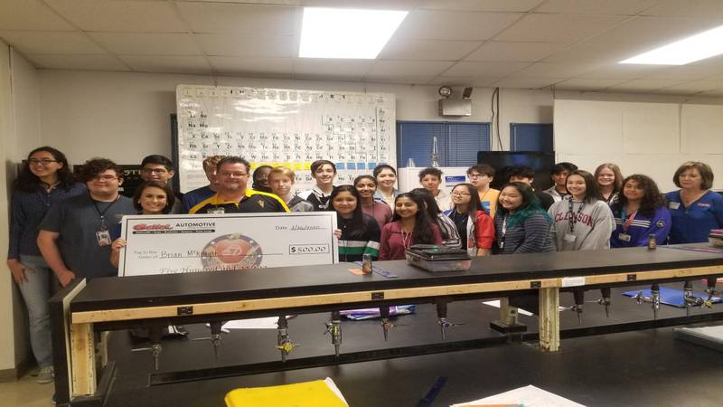 A teacher at Southeast High School is being recognized for his work as a teacher and a coach