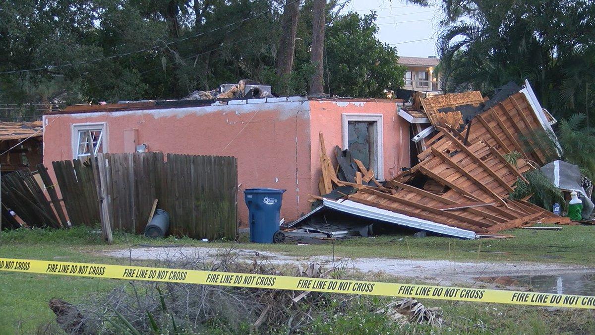 Family struggling following house explosion in Bradenton.