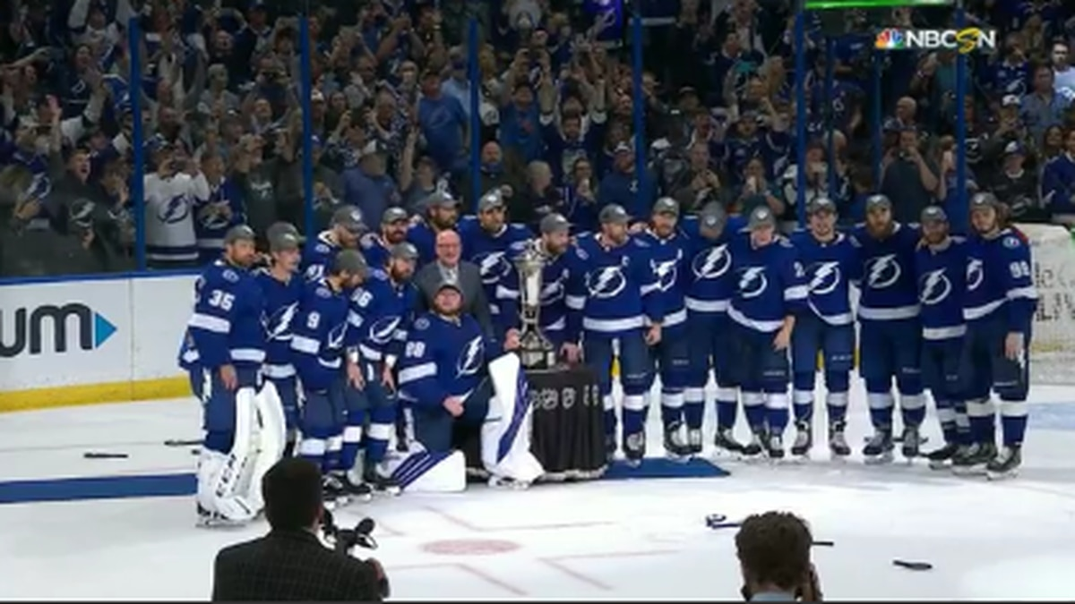 Tampa Bay Lightning move on to the finals.