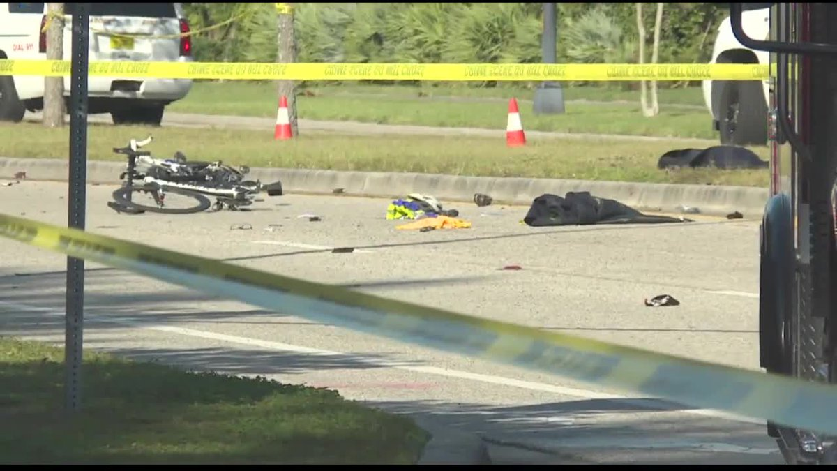 GF Default - One of four critically injured bicyclists released from the hospital