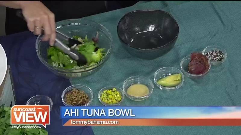 Ahi Tuna Bowl from Tommy Bahama Restaurant & Bar.