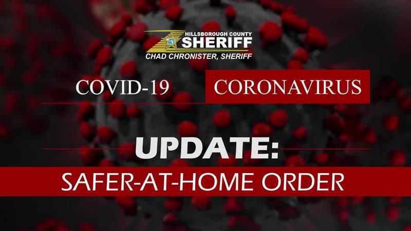 Sheriff Chad Chronister Safer-At-Home Order