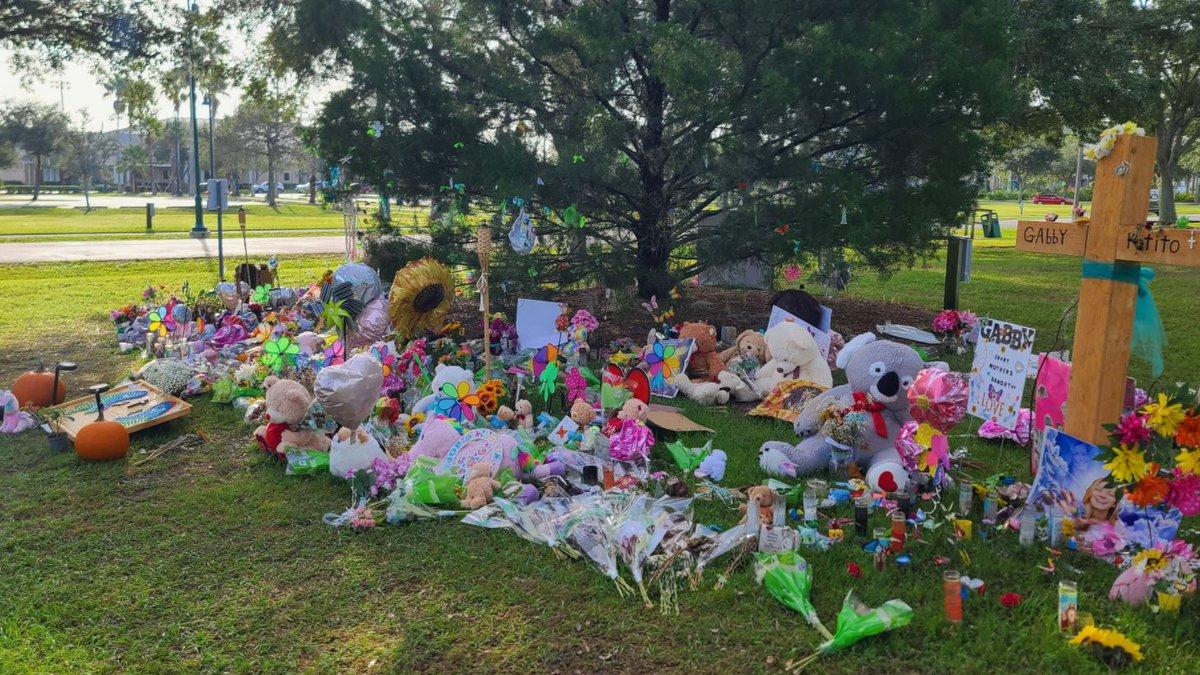 Memorial for Gabby Petito in North Port