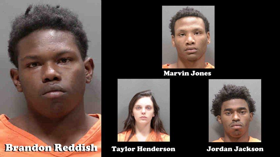 Brandon Reddish, Marvin Jones, Taylor Henderson, Jordan Jackson