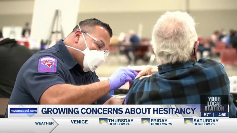 Growing concerns about vaccine hesitancy