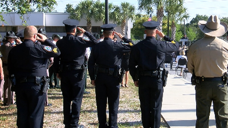 In honor of National Police Week law enforcement from across the Suncoast paid their respects...