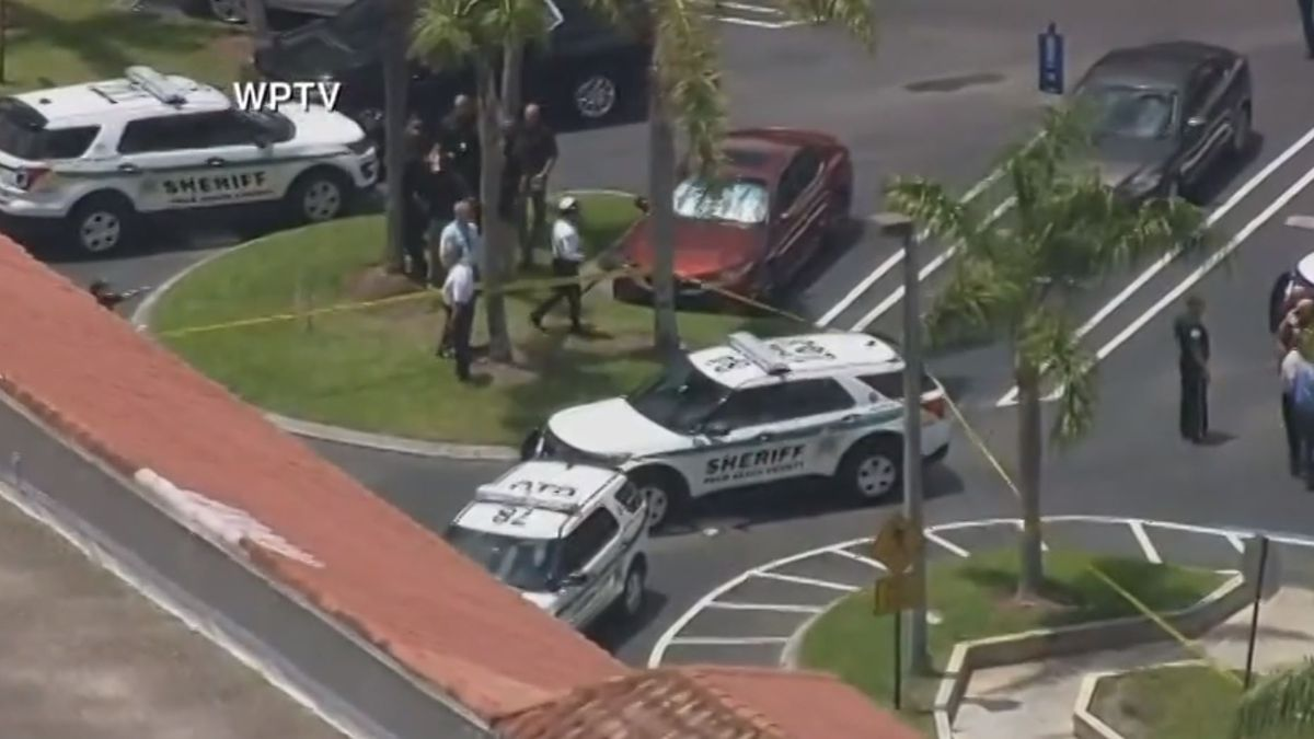 Law enforcement officials responded to a report of a shooting at a Publix grocery store in...