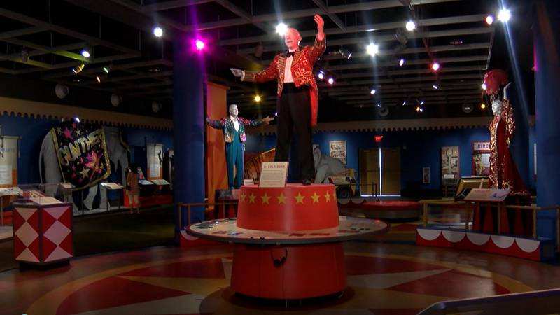 The Ringling Circus Museum is now back open after closing during the pandemic.