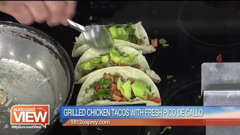 GF Default - Grilled Chicken Tacos from 1812 Osprey Bistro | Suncoast View