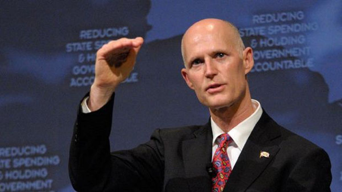 Florida Gov. Rick Scott is signing legislation to combat the state's opioid epidemic in...