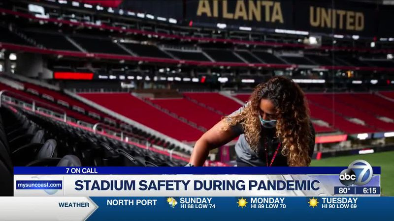 Sports stadium safety during pandemic   OCT. 11th, 2020