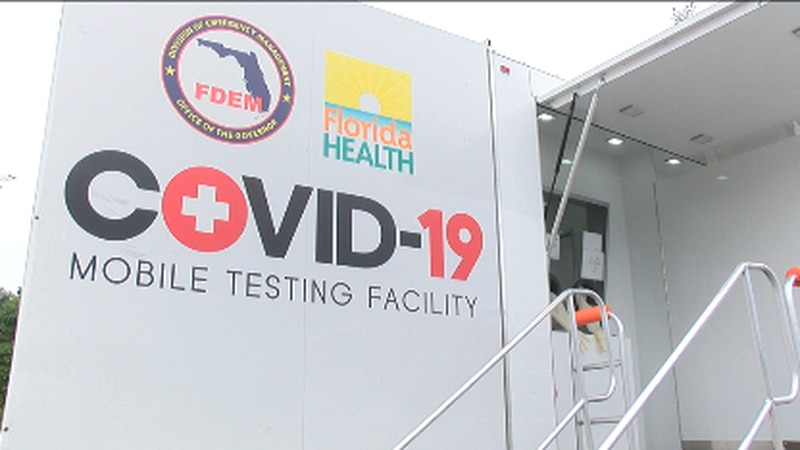 2-in-one COVID-19 vaccination and testing site in Palmetto
