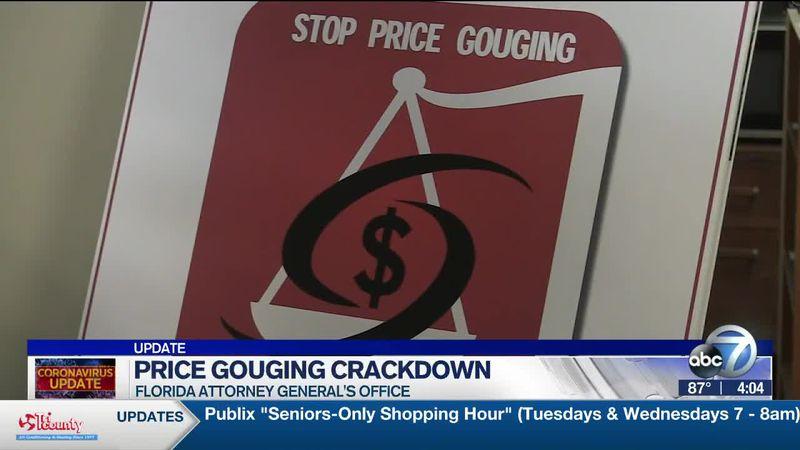 Price Gouging Crackdown