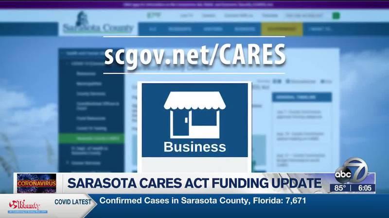 Sarasota Cares Act Funding Update