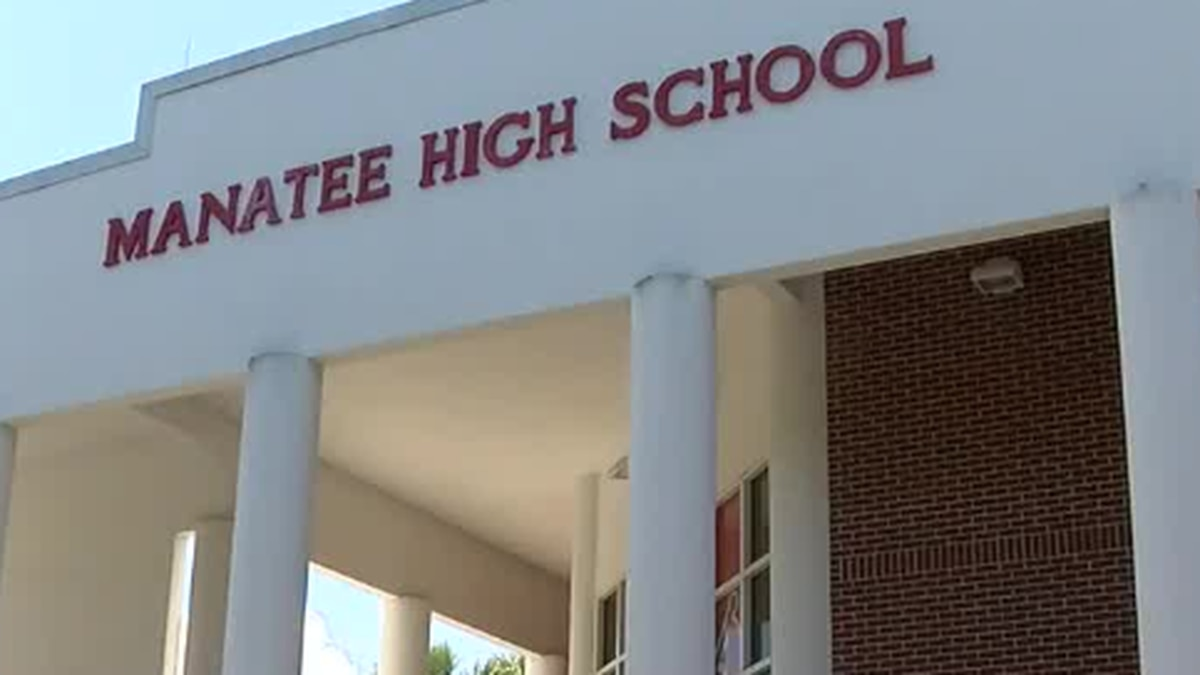 Manatee High School Senior Shebly Eikel says she started a petition to have her graduation at...