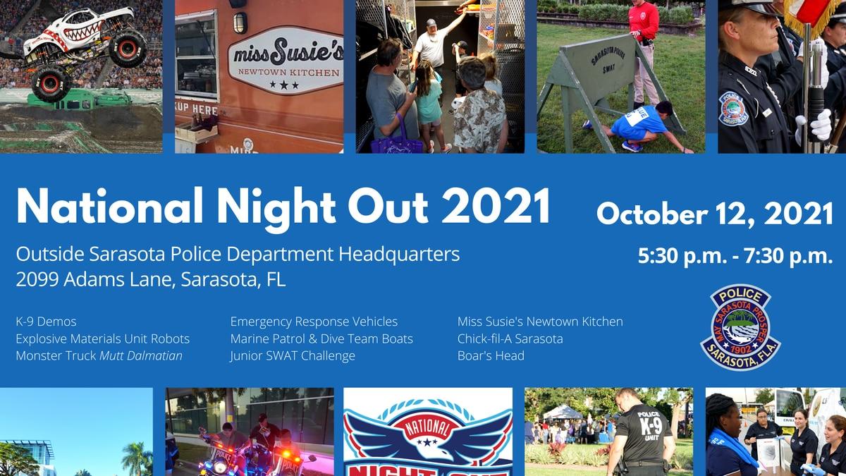 Sarasota PD National Night Out