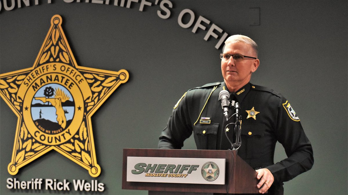 Sheriff Rick Wells was sworn in for his second term.