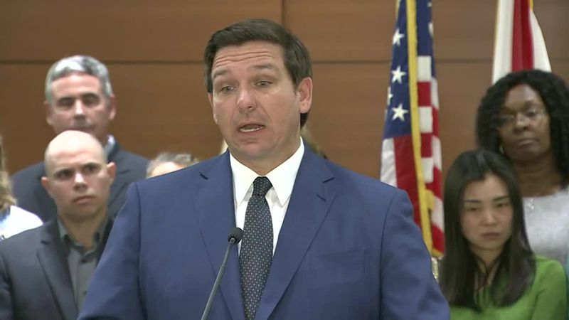 The mass shooting in Parkland was avoidable, says Florida Governor Ron DeSantis. He's now...