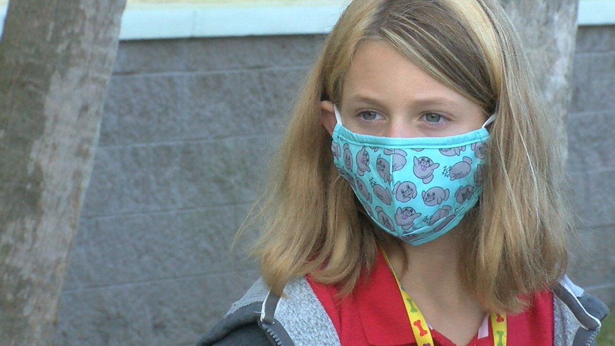 Mask Up Manatee Coalition started their distribution Friday at Tillman Elementary School.