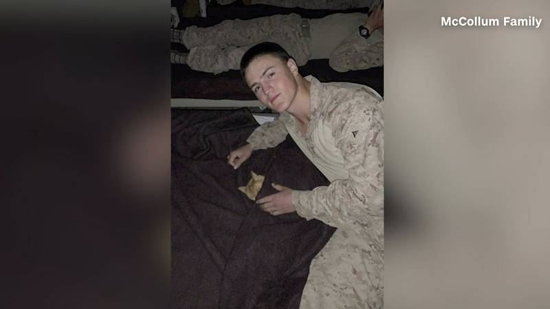 US Marine Rylee McCollum was identified as one of the victims from Thursday's attack in Kabul...
