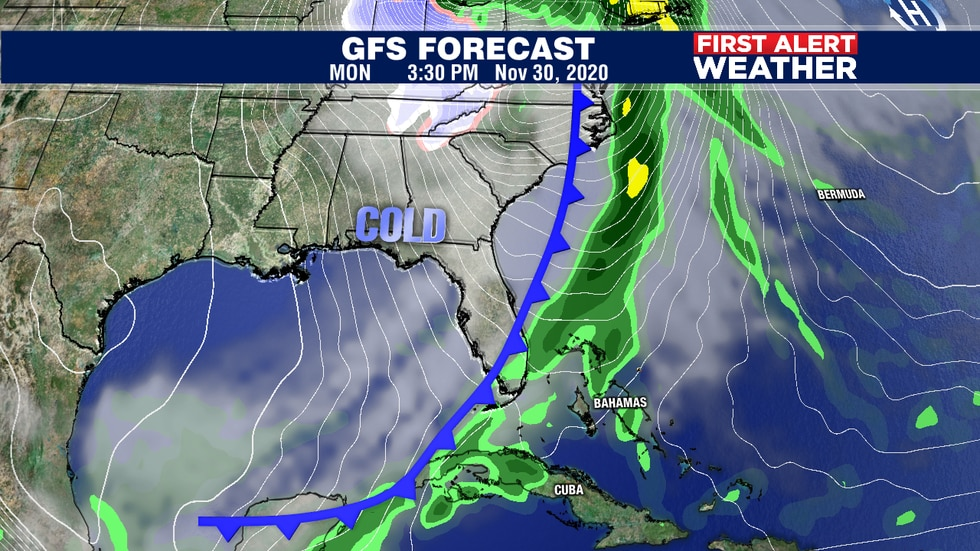 Get ready for some much cooler air heading our way