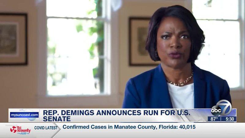 Rep. Demings announces run for U.S. Senate