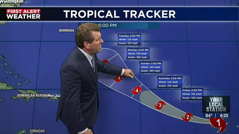 Soon to be a major hurricane