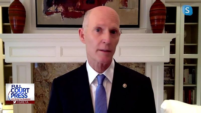 6/28/20 Sen. Rick Scott discusses skyrocketing COVID-19 cases and the 2020 presidential election