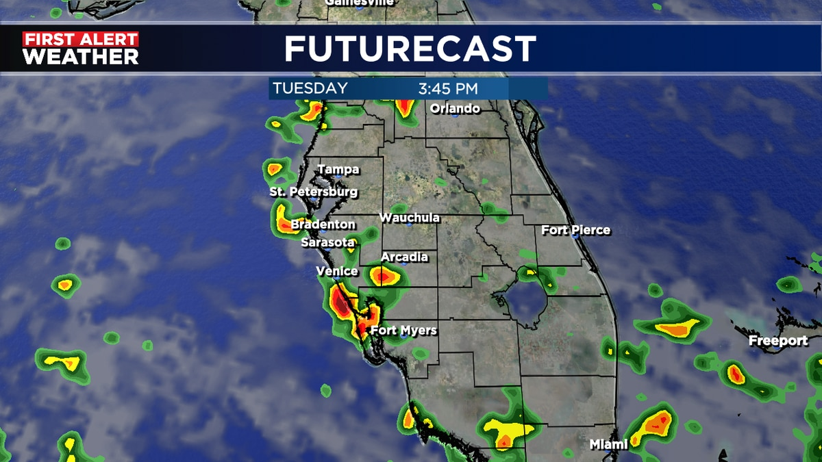 Summer pattern continues through Thursday