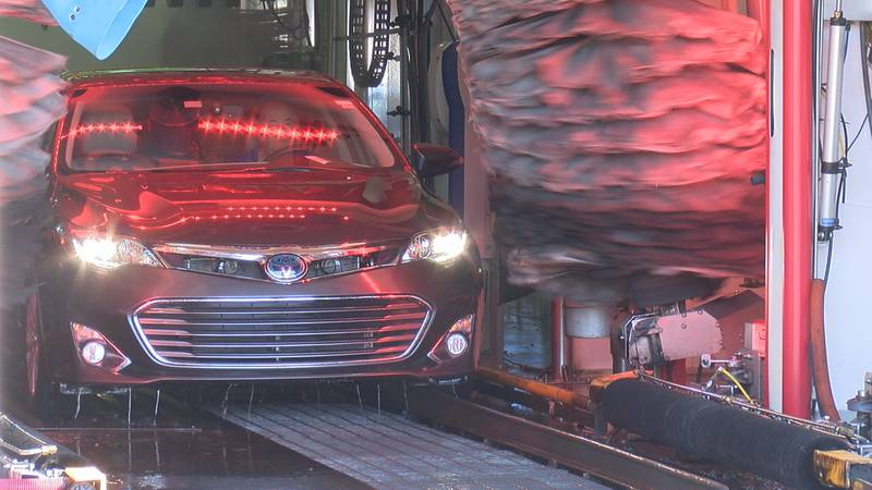 The car wash is raising money for We Care Manatee, a nonprofit that helps uninsured Manatee...