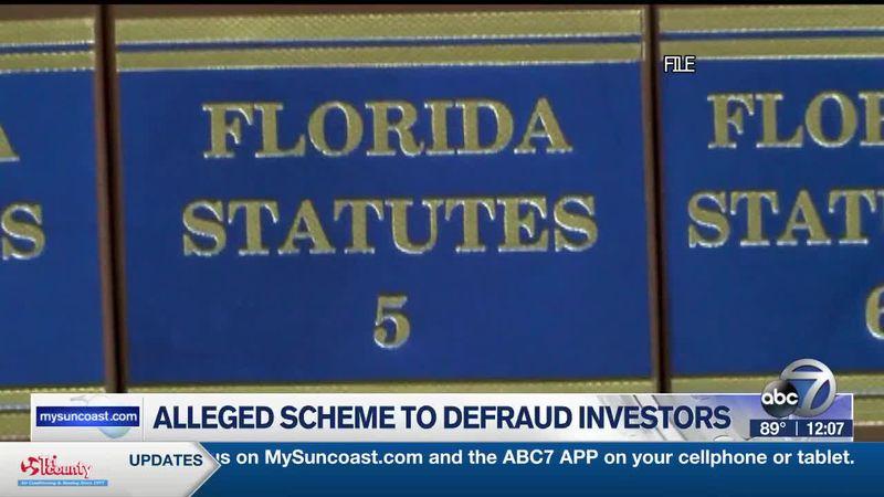 Two Suncoast men arrested for alleged scheme to defraud investors