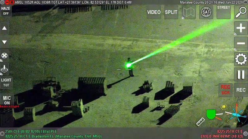 Deputies: Man arrested for pointing laser at pilots attempting to land plane at SRQ Airport
