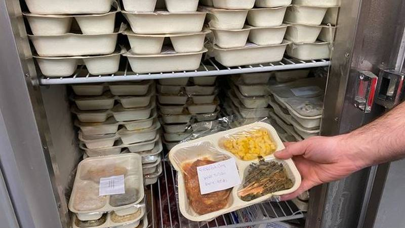 Brunswick County's Senior Services has been scrambling to feed people since COVID-19 has...