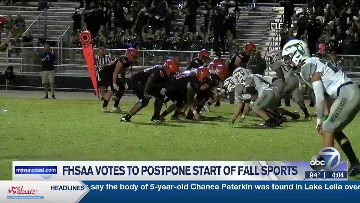 FHSAA Fall Sports