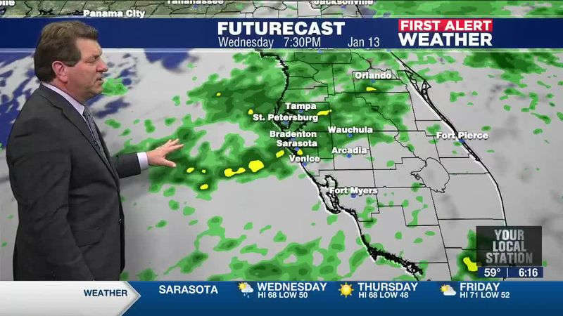 First Alert Weather - 6pm January 12, 2021