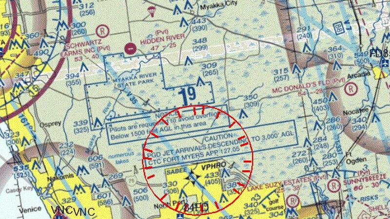 No fly zone over Myakkahatchee Park