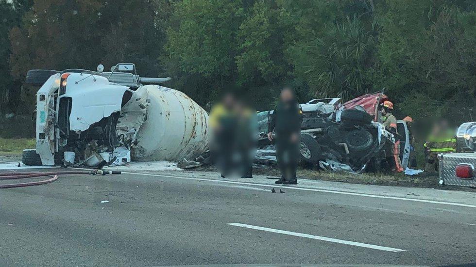Crash on I-75 North