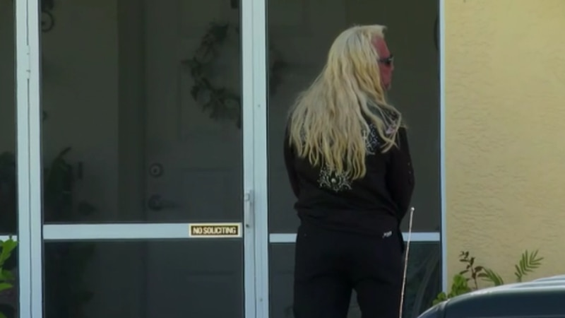 Dog the Bounty Hunter was captured at the Laundrie's family house, Saturday.