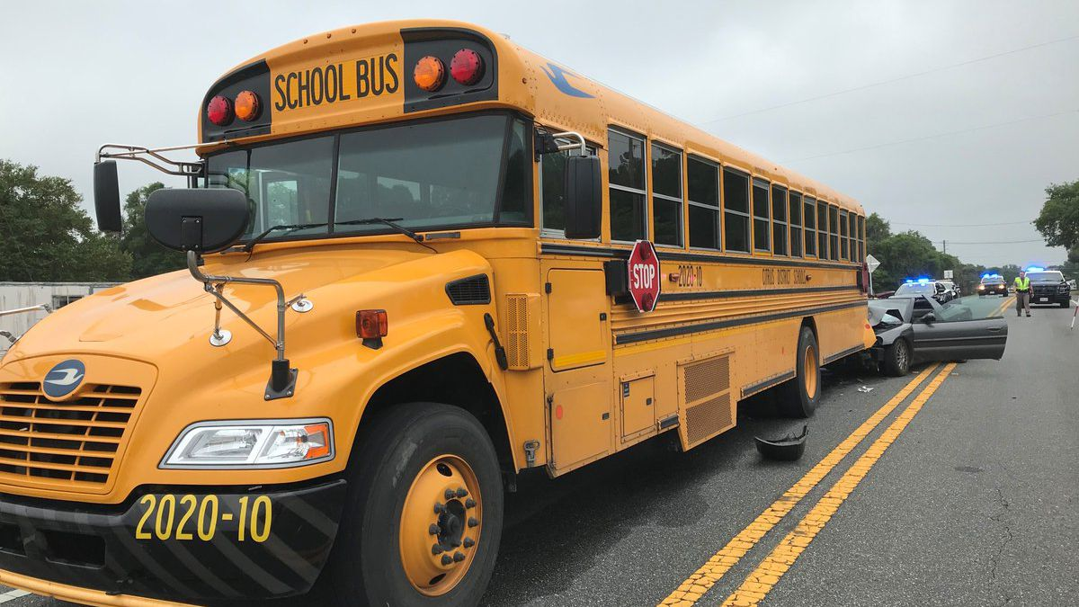 8 year old killed in Citrus County in a school bus involved crash.