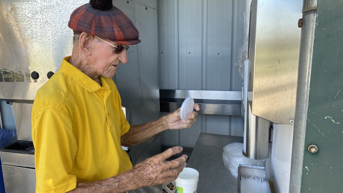 """At 97, John """"Johnny Rocket"""" Murray is going strong."""