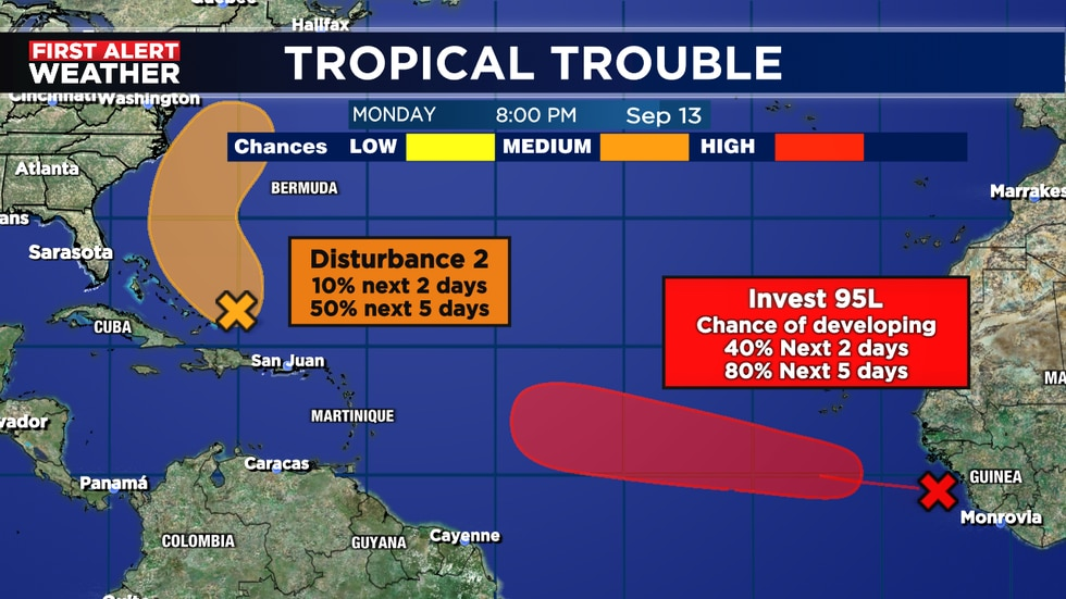 95L looks to become Odette