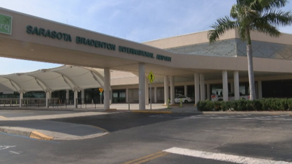Sarasota-Bradenton International Airport is seeing a slight increase in people flying out of...