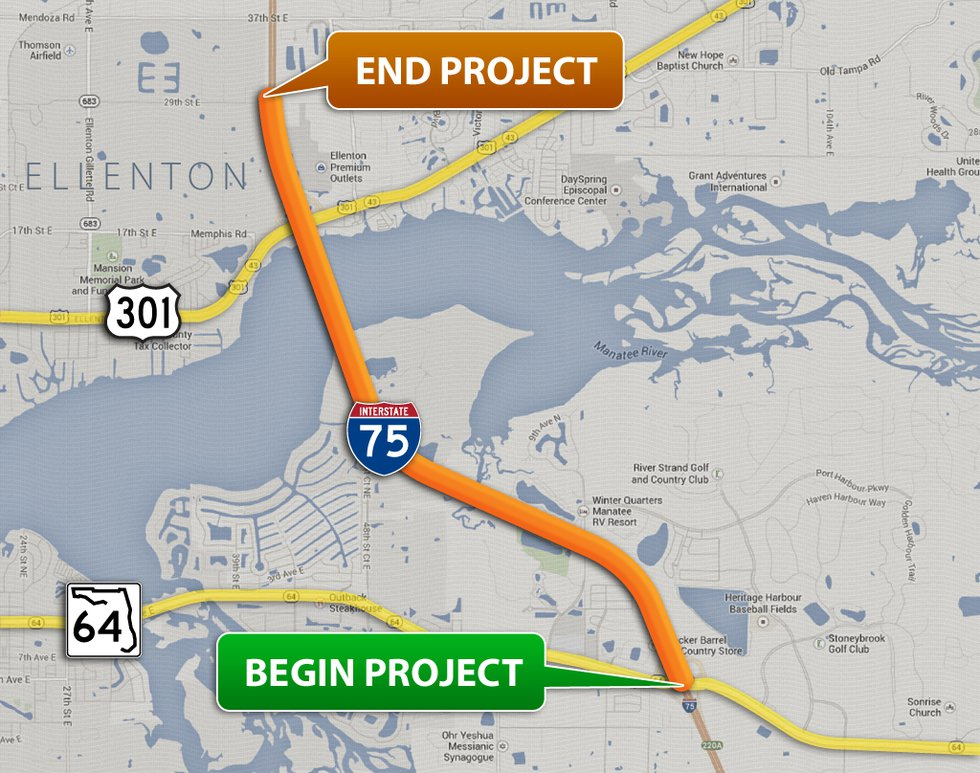 Proposed interchange project.