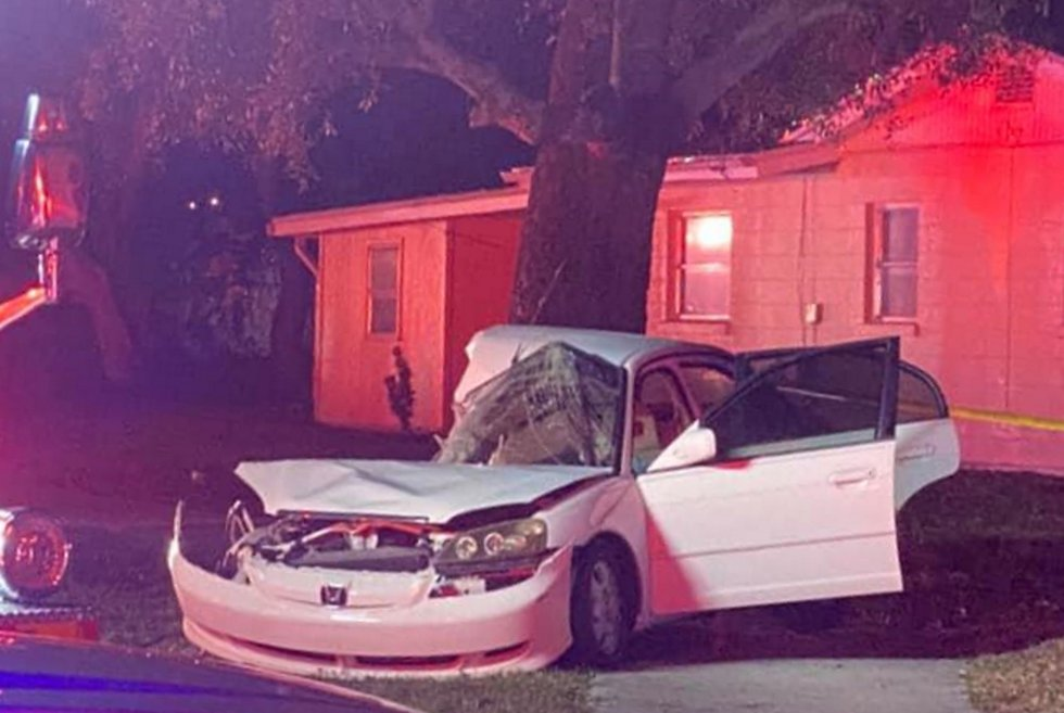 A fatal crash at South Shade Avenue and Grove Street in Sarasota on New Year's Day.