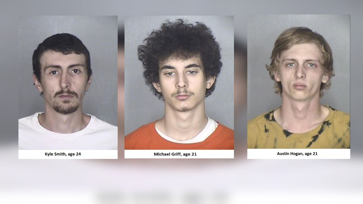 Three suspects arrested in murder of two Florida men.