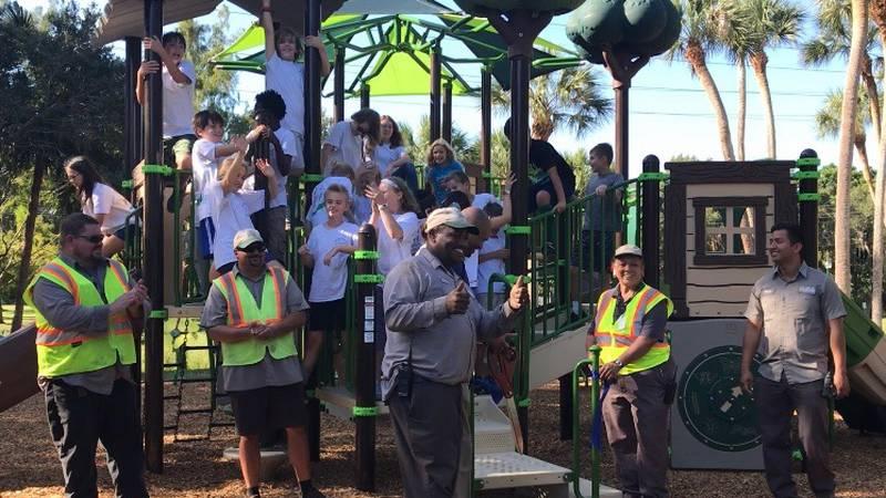 Pioneer Park Playground reopens in Sarasota